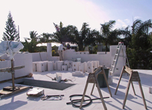 Private Residence Autoclaved Aerated Concrete Block and floor panels
