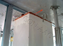 Aercon 4inch x24inch x24inch Autoclaved Aerated Concrete shaft wall block