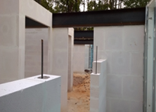 Private Residence Autoclaved Aerated Concrete block